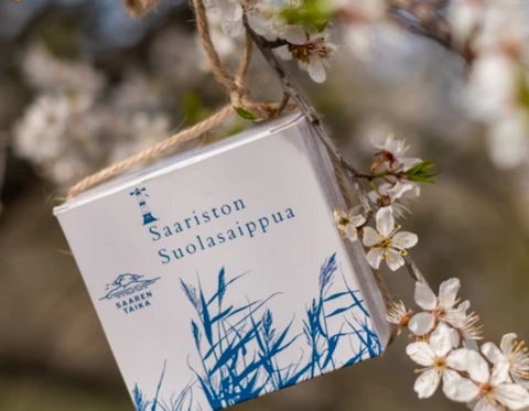 Salt soap from Finland