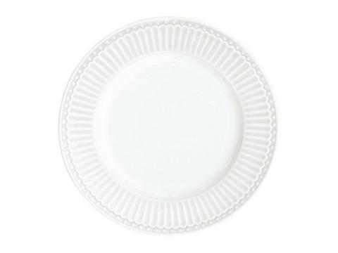 Plate Alice white