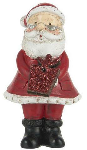 Santa with glitter