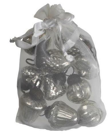 Antique silver glassornament