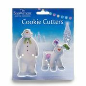 Gingerbread mold  snowman and dog
