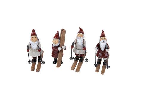 Skiing pixies