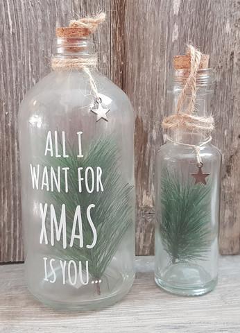 Glassbottle Christmas