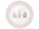 Plate Ellison pale pink