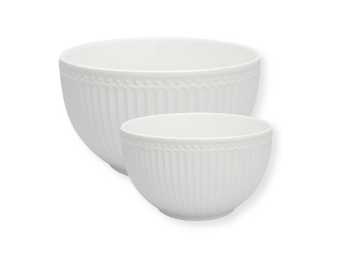 Ceramic bowl set 3 colours