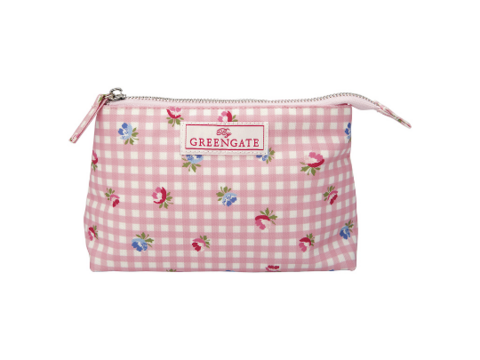 Cosmetigbag Viola oilcloth 2 sizes