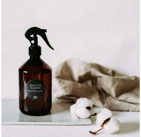 Clean Cotton ironing spray