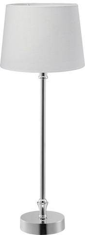 Tablelamp crome/white