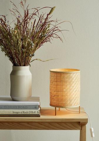Tablelamp bambu