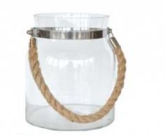 Glashurricane with rope