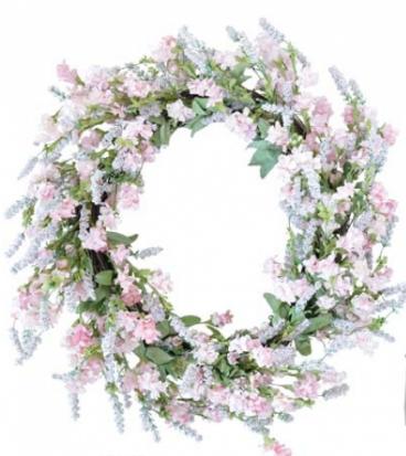 Flowerwreath pink