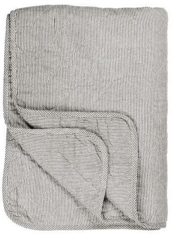 Blanket white/greystripe