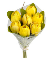 Tulipbouquet yellow