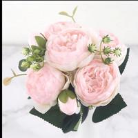Peony bouquet  rose/shampang
