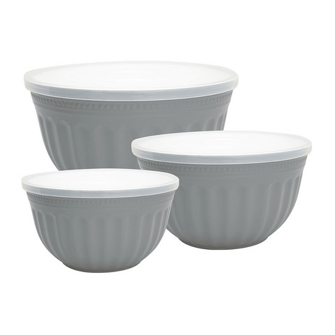 Bowl set Alice grey