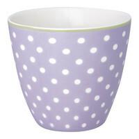 Lattecup spot lavender