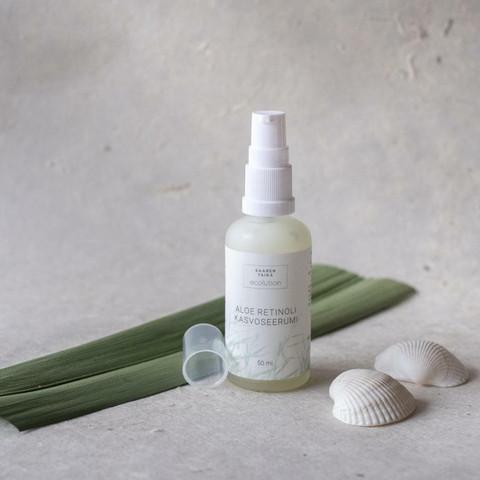 Ecolution aloe retinol nourishing facial serum