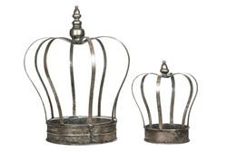 Flowercrown 2 model antique silver