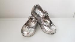 Decoration shoes silver