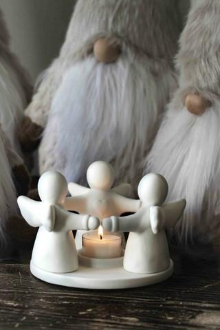 Gurdianangel candleholder