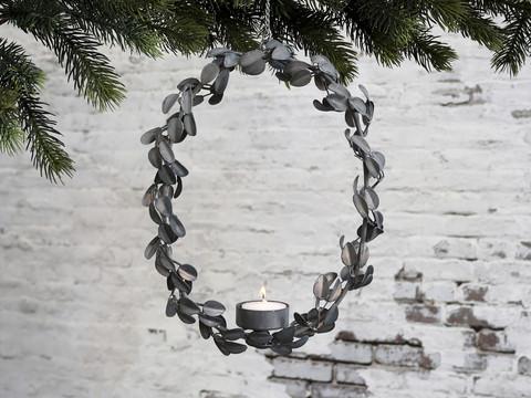Wreath for tealight