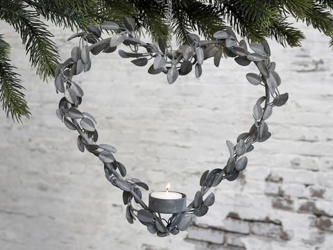 Herat wreath for tealight