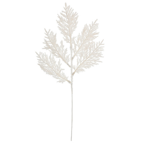 Branch white/glitter
