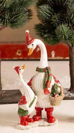 Goose mother gosling