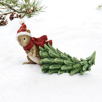 Mouse w. Christmas tree