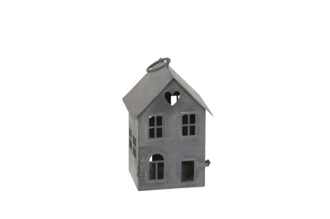 House candleholder zink