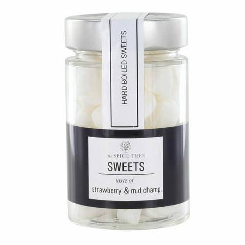 Strawberry-champangne sweets