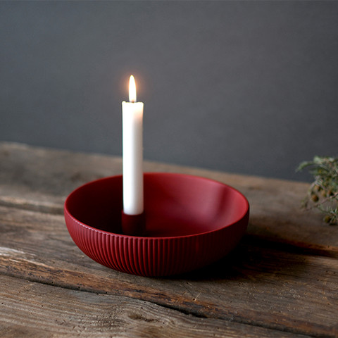 Kynttiläkulho 2 väriä