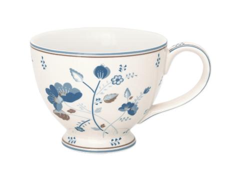 Teacup  Mozy white