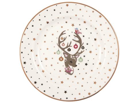 Plate Dina white