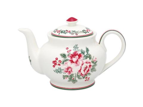 Teapot  Charline white