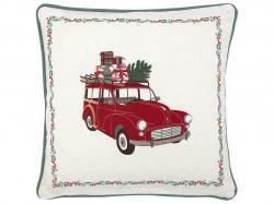 Cushion cover  Charline car white