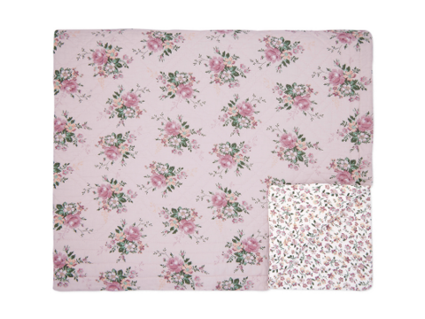 Quilt Marie dusty rose