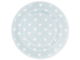 Small plate Penny pale Blue