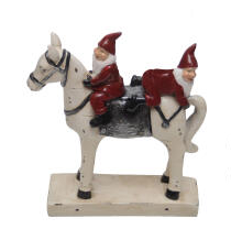 Elfs and horse