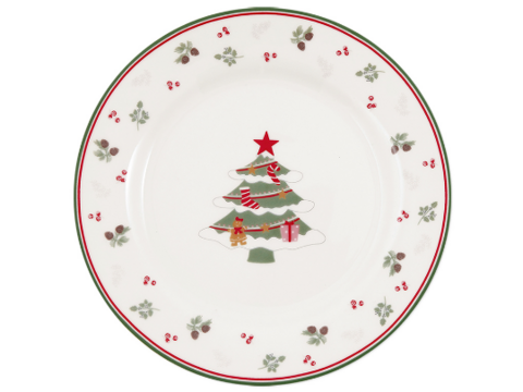 Plate Charline Xmas