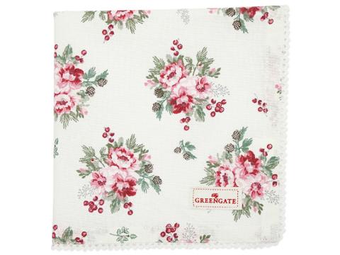 Cottonnapkin Charline white