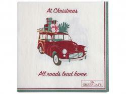 Papernapkin Christmas car small
