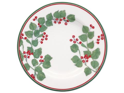 Small plate  Scarlett white