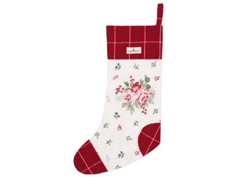 Christmas sock Charline white