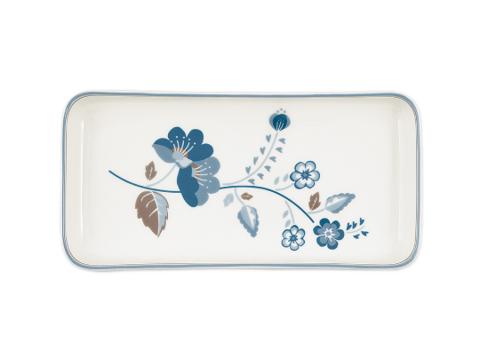 Ceramic tray  Mozy white