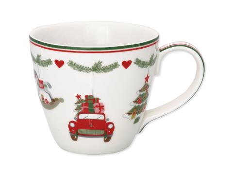 Christmasmug  Charline white