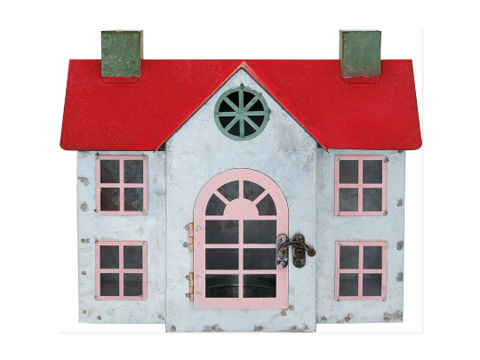 Metal house charline red