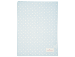 Tablecloth penny pale blue