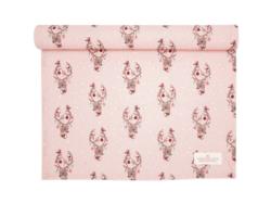 Tablerunner Dina pale pink
