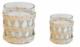 Candle 2 sizes